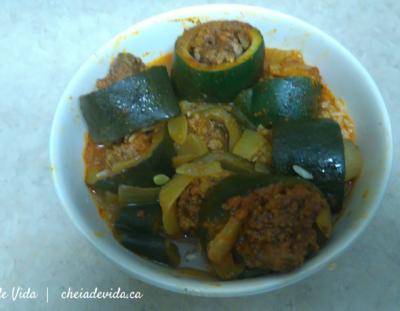 Recipe: My Mother's Stuffed Zucchini