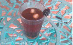 Blackberry Ginger Earl Grey Iced Tea